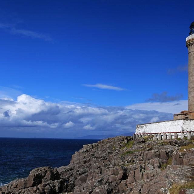 """Ardnamurchan Lighthouse, Scotland"" stock image"