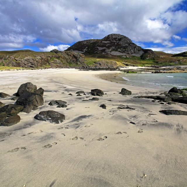 """Sanna Bay, Ardnamurchan, Scotland, UK"" stock image"