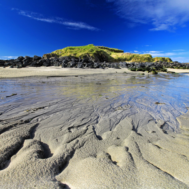 """Sana Bay On Ardnamurchan Peninsula"" stock image"
