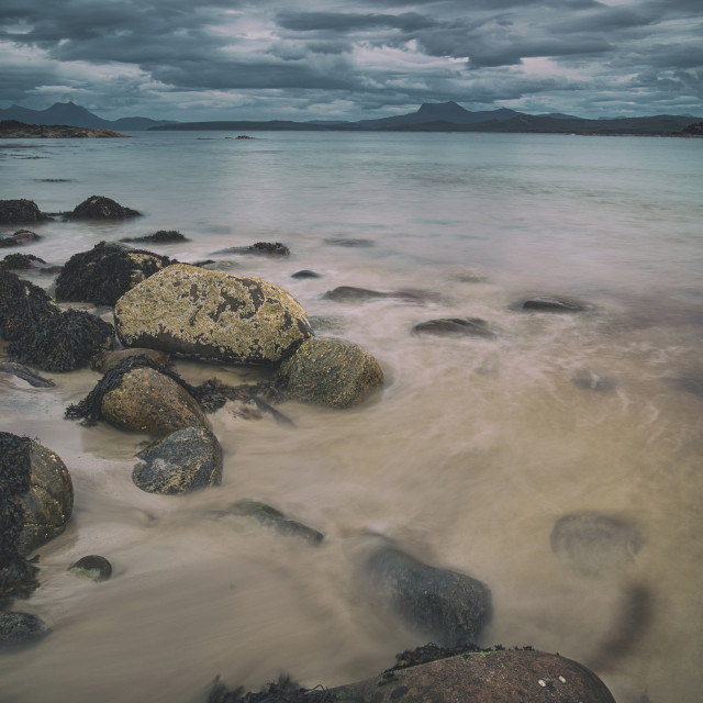 """Mellon Udrigle Beach"" stock image"