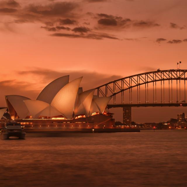 """""""Sydney Icons"""" stock image"""