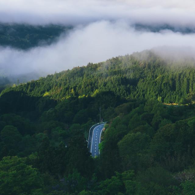 """Nakasendo Trail - Japan"" stock image"