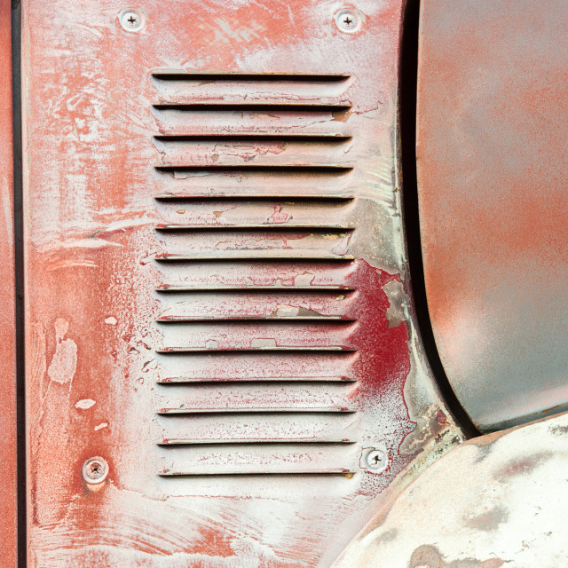 """patina vehicle panel 2"" stock image"