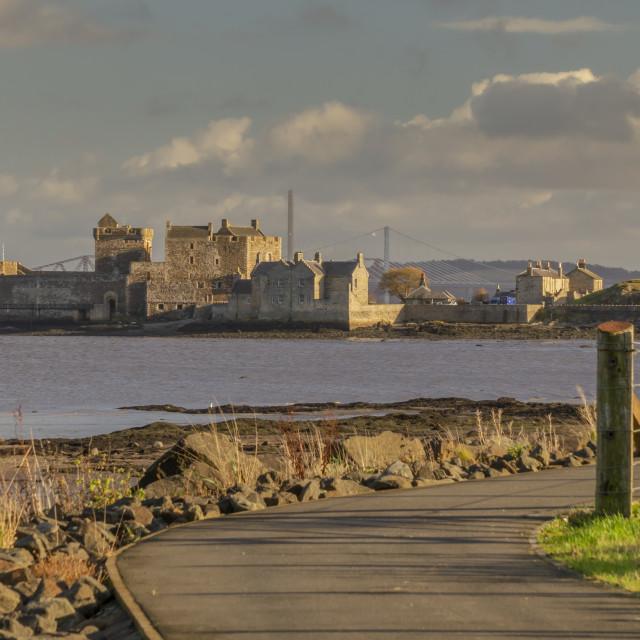 """Blackness Castle (aka Outlander's ""Fort William"")"" stock image"