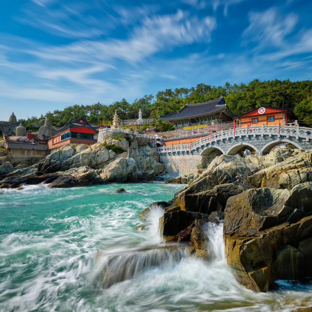 """Haedong Yonggungsa Temple. Busan, South Korea"" stock image"