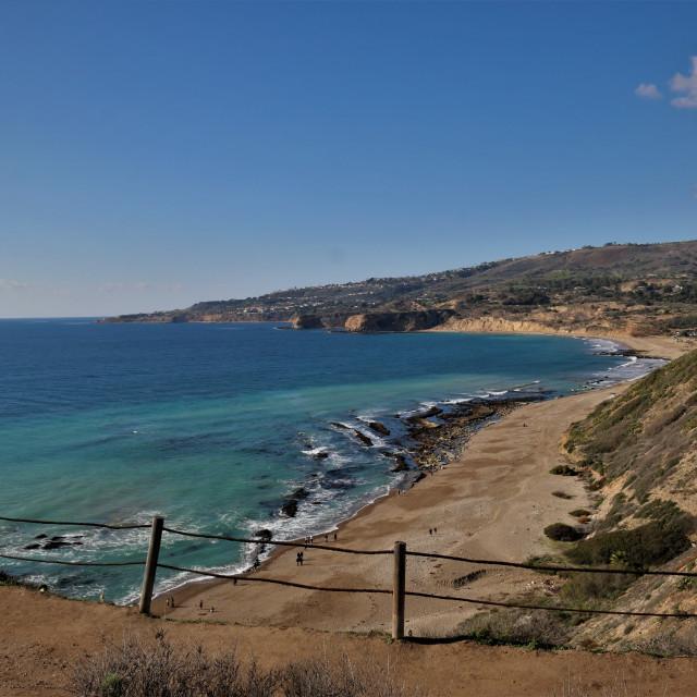 """Palos Verdes, California."" stock image"