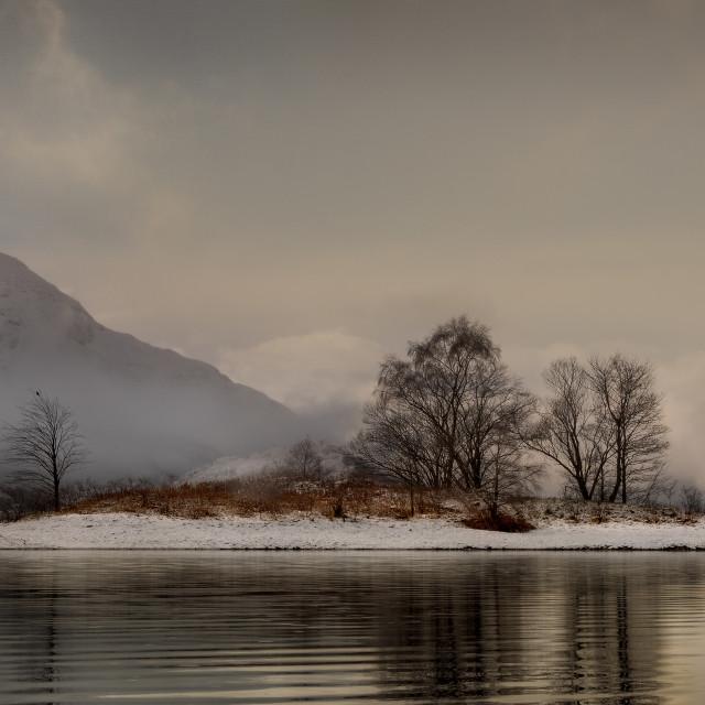 """Loch Leven Island"" stock image"