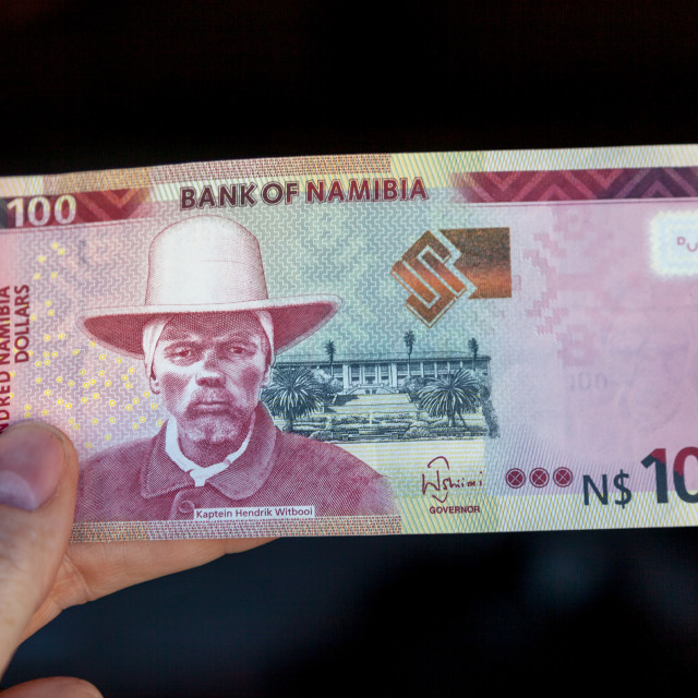 """""""Namibian Currency"""" stock image"""