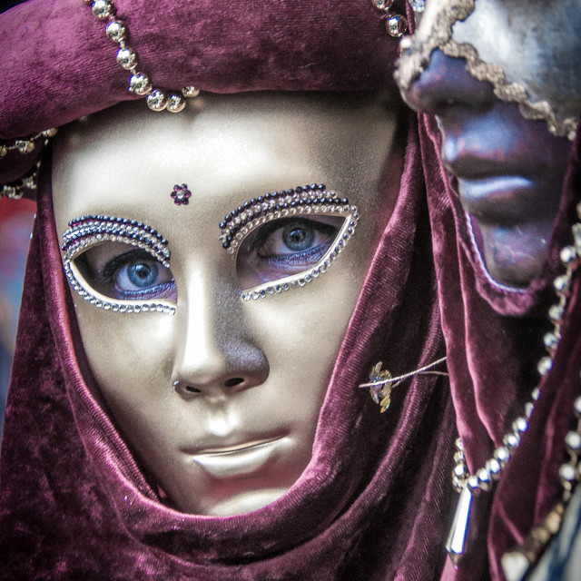 """Carnevale di Venezia"" stock image"