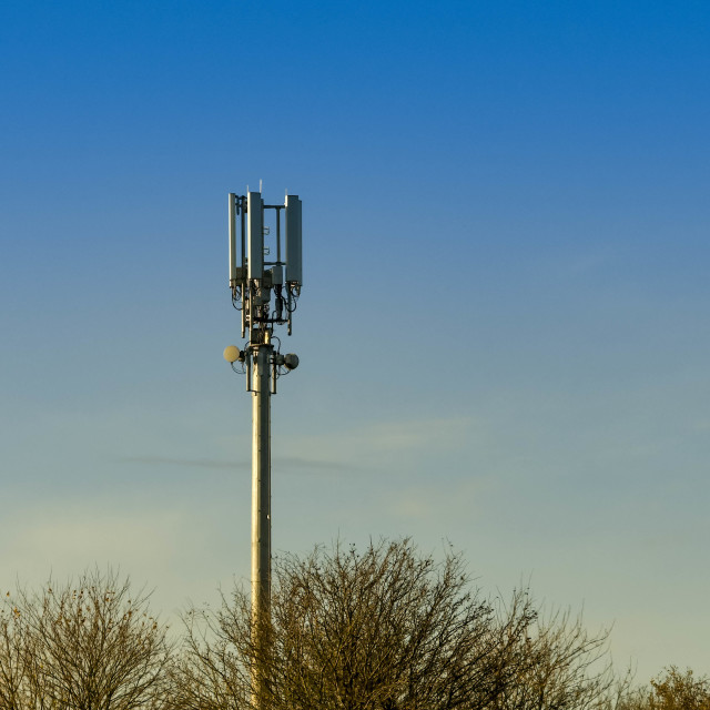 """Mobile phone mast"" stock image"