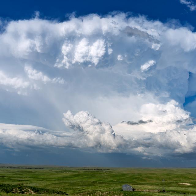 """""""Cumulonimbus Cloud"""" stock image"""