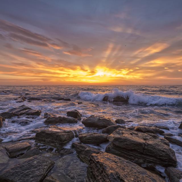 """Exciting sunrise"" stock image"