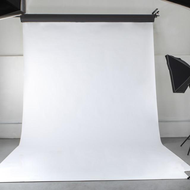 """A professional photographic studio"" stock image"