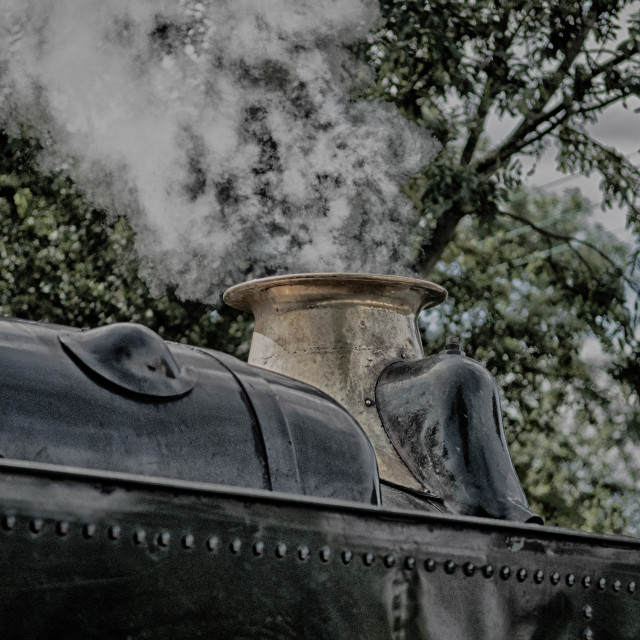 """Golden Age Of Steam"" stock image"