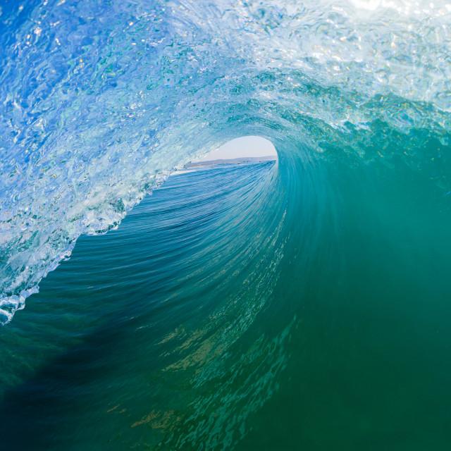 """""""Wave Tube Inside Tube Outward"""" stock image"""