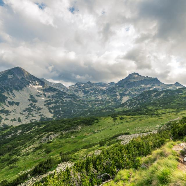 """Amazing Landscape of Pirin Mountain, Bulgaria."" stock image"