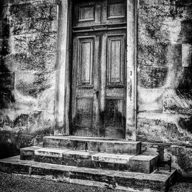 """""""College door"""" stock image"""