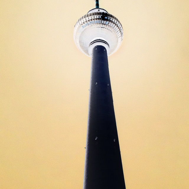"""TV TOWER BERLIN"" stock image"