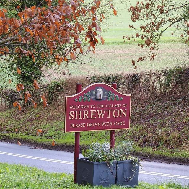 """Hollywood coming to Shrewton."" stock image"