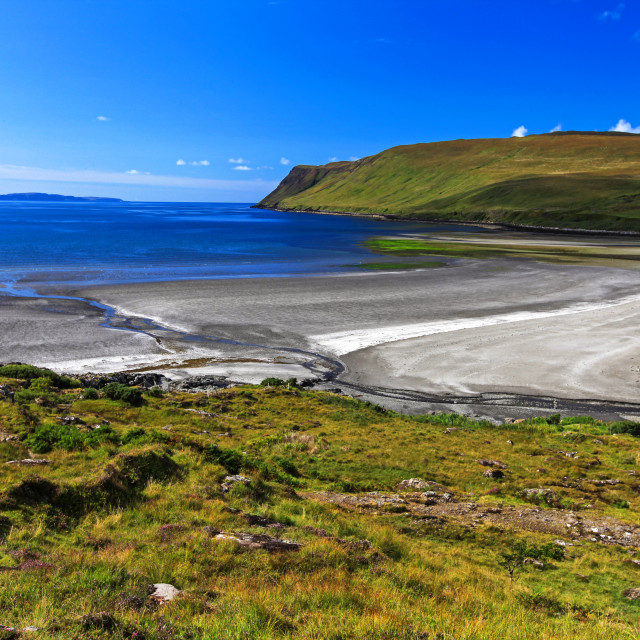"""Glen Brittle Beach, Isle of Skye"" stock image"