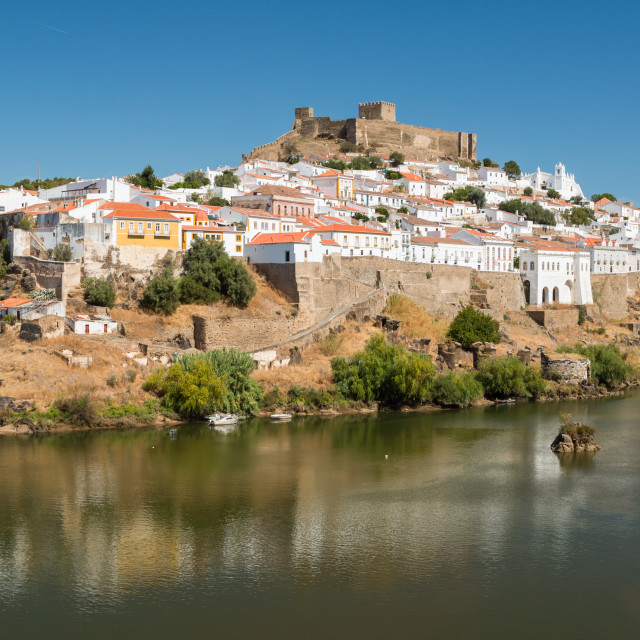 """Mertola Town in Portugal"" stock image"