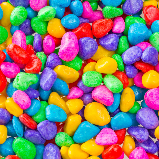 """""""Colorful stones background"""" stock image"""