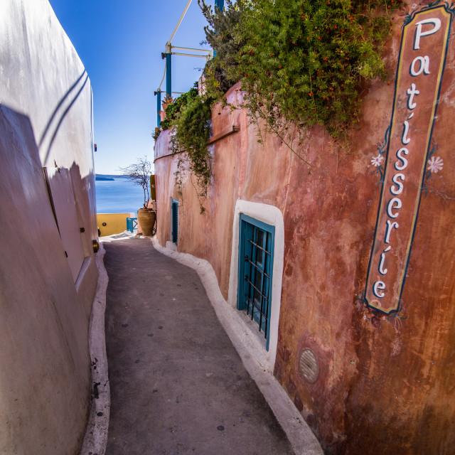 """Oia,Santorini,Greece"" stock image"