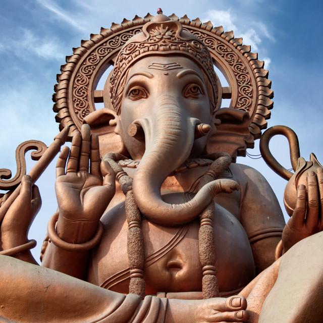 """Large Statue India"" stock image"