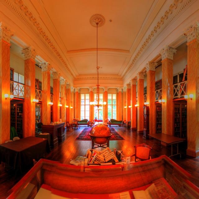 """Athenaeum of Philadelphia"" stock image"