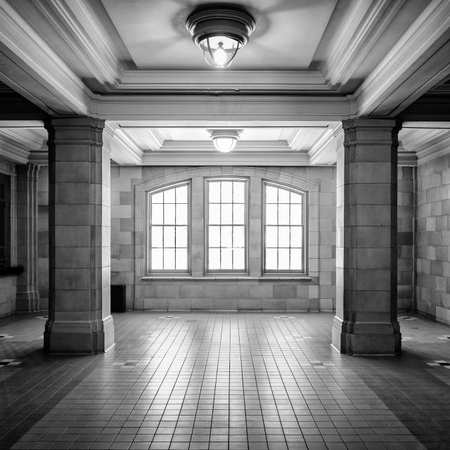 """Joliet Union Station"" stock image"