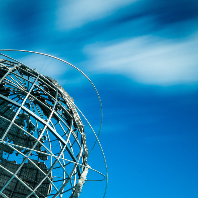 """Unisphere"" stock image"