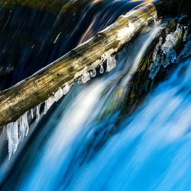 """Tumwater Falls"" stock image"