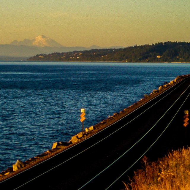 """Edmonds Railroad"" stock image"