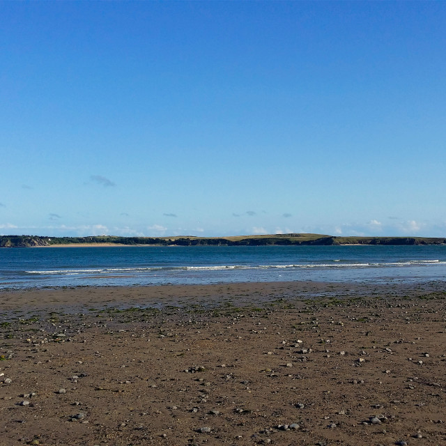"""Caldey Island Pembrokeshire"" stock image"