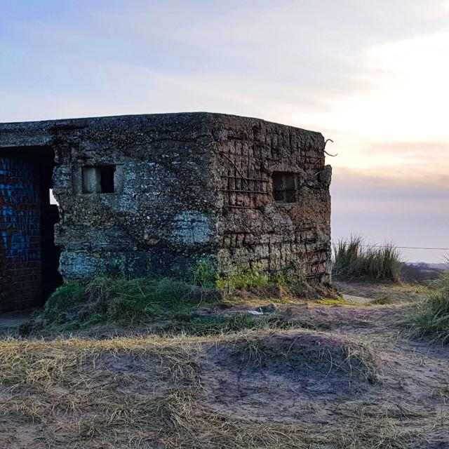 """WW2 Bunker"" stock image"