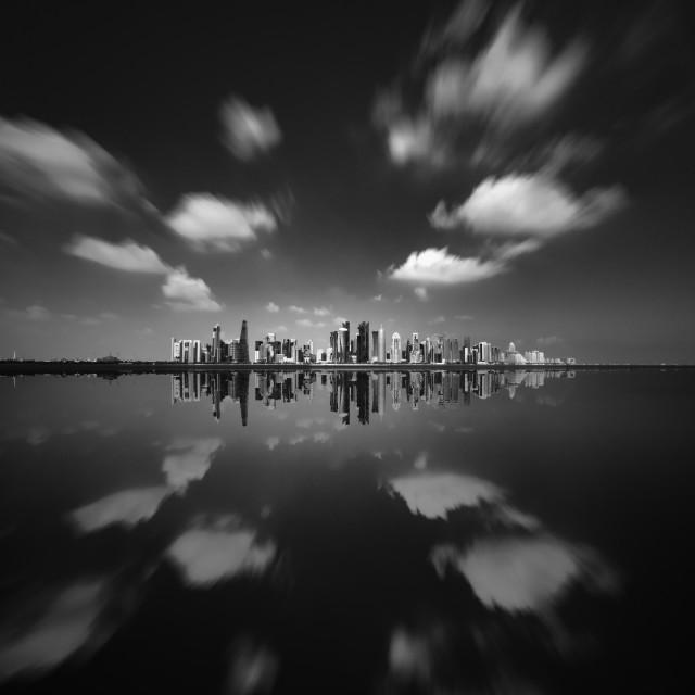 """Doha's Westbay"" stock image"