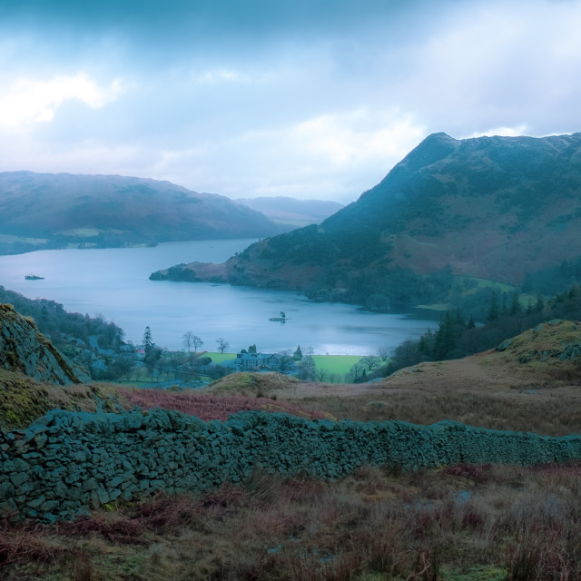 """""""Ullswater in the English Lake District"""" stock image"""