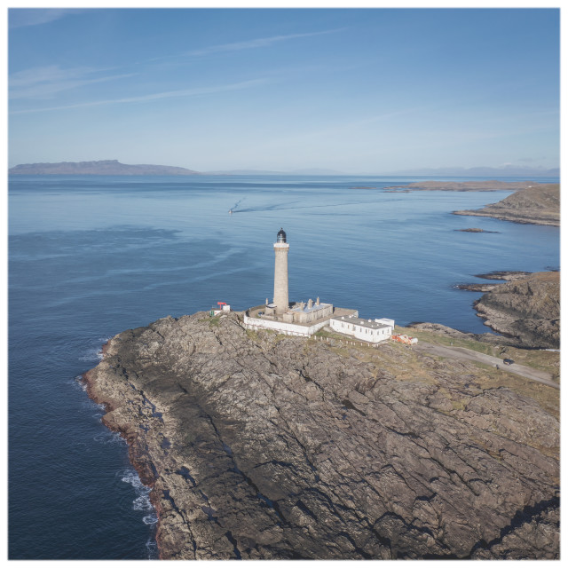 """Ardnamurchan Point Lighthouse"" stock image"