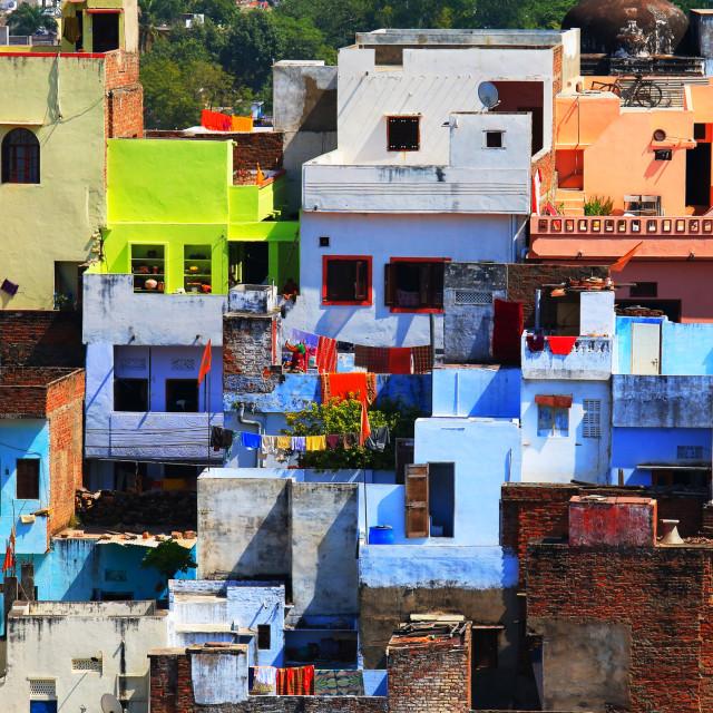 """""""Udaipur cityscape India"""" stock image"""