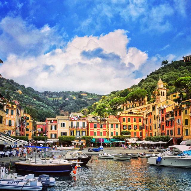 """Portofino Italy"" stock image"
