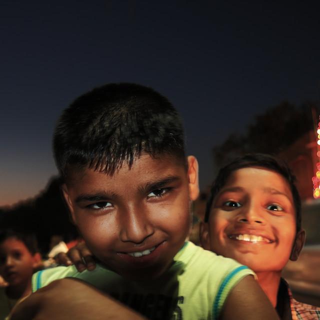 """Indian kids"" stock image"