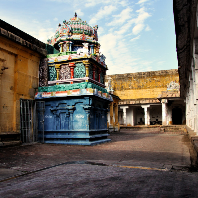 """colourful temple"" stock image"