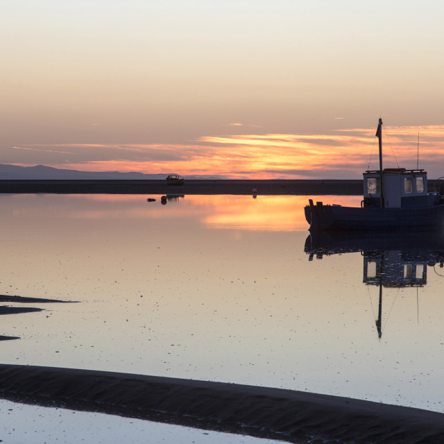 """Meols Reflection"" stock image"