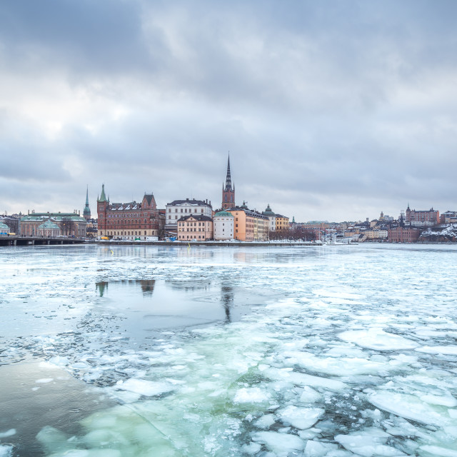 """Stockholm winter"" stock image"