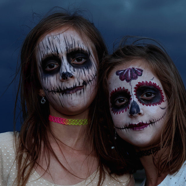 """""""The nocturnal twins of Coco"""" stock image"""