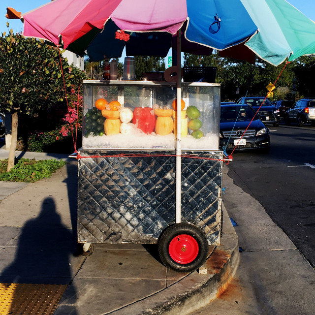 """""""A fruit stand!"""" stock image"""
