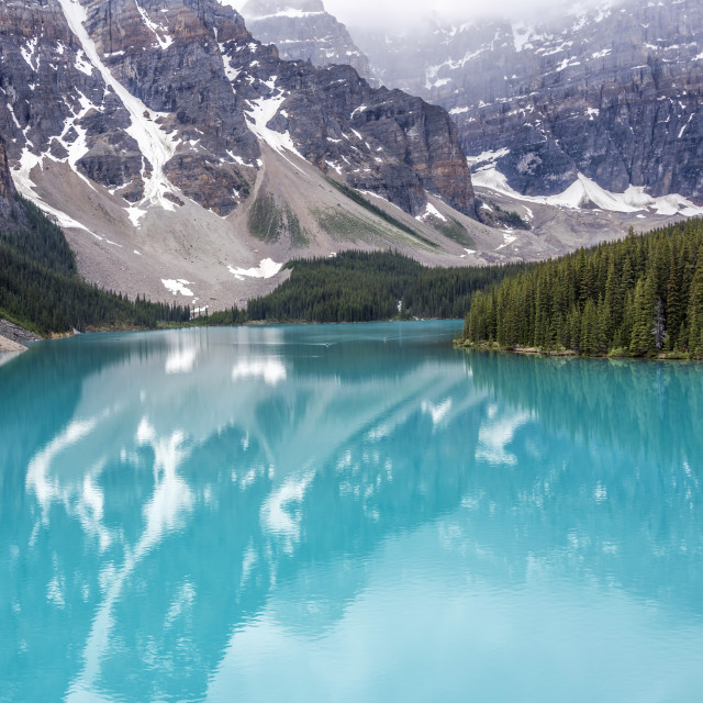 """Moraine Lake"" stock image"