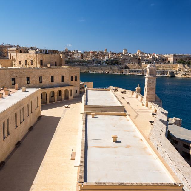 """Saint Angelo Fort in Malta"" stock image"