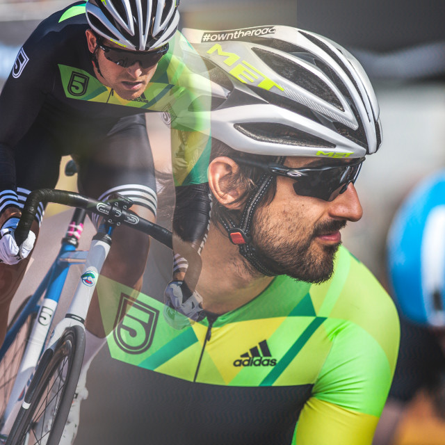 """Racing at the Red Hook Crit"" stock image"