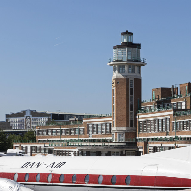 """""""Old Liverpool Airport 1"""" stock image"""